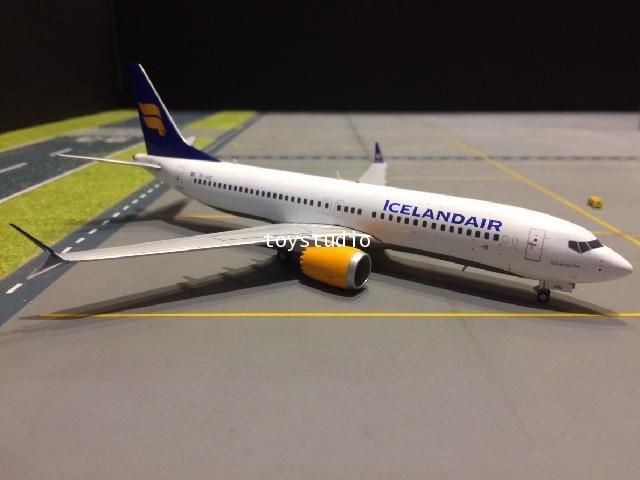 GEMINI JETS 1:200 Icelandair B737 MAX-8 nc TC-ICE G2733