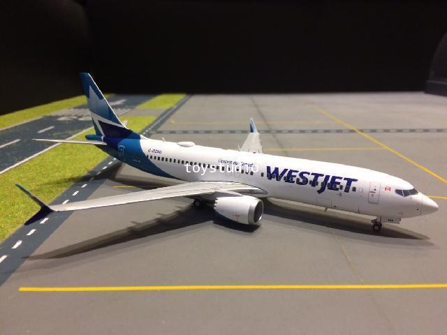GEMINI JETS 1:200 Westjet 737 MAX-8 C-GZSG nc G2783