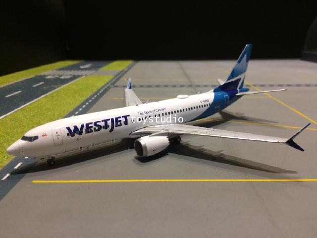 GEMINI JETS 1:200 Westjet 737 MAX-8 C-GZSG nc G2783 1