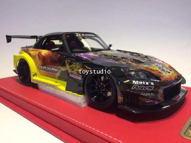 ONE MODEL 1:18 S2000 Js Racing GT Version Maou (18A03-0107)