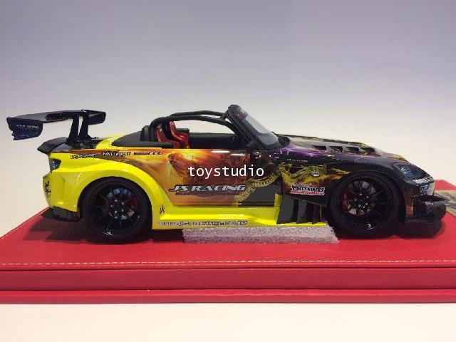 ONE MODEL 1:18 S2000 Js Racing GT Version Maou (18A03-0107) 2