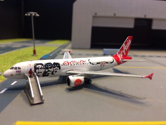 PHOENIX 1:400 Thai Air Asia A320 HS-ABJ PH1519 1