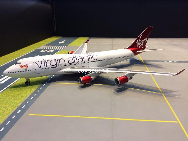 GEMINI JETS 1:200 Virgin Atlantic 747-400 G-VBIG G2766 1