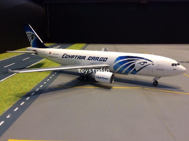 JC WINGS 1:200 EgyptAir Cargo A300B4-600RF SU-GAS LH2067
