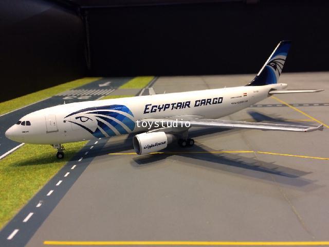 JC WINGS 1:200 EgyptAir Cargo A300B4-600RF SU-GAS LH2067 1