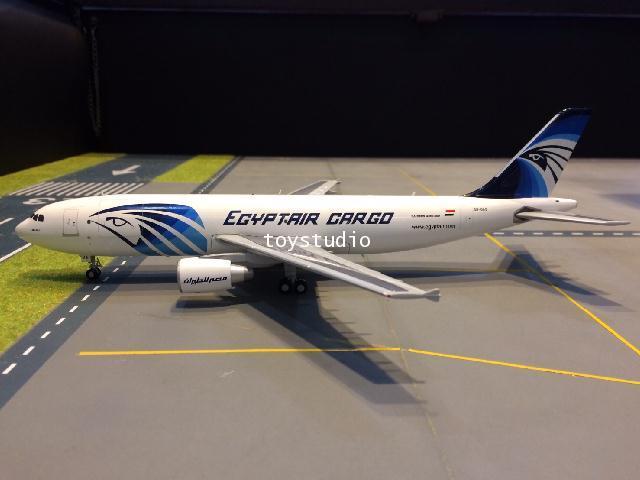 JC WINGS 1:200 EgyptAir Cargo A300B4-600RF SU-GAS LH2067 2