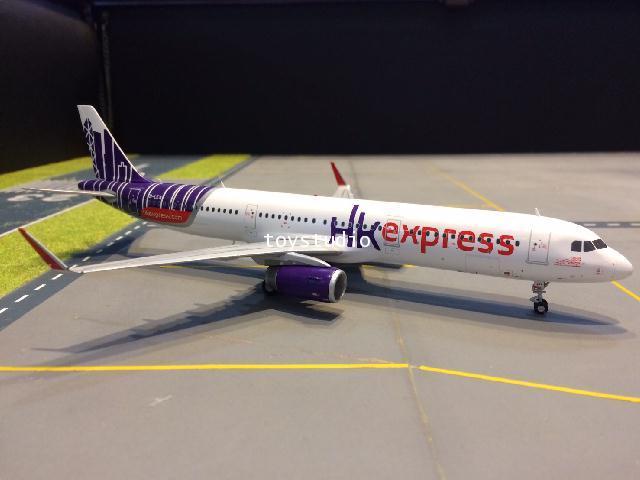 JC WINGS 1:200 HK Express A321 B-LEA XX2051