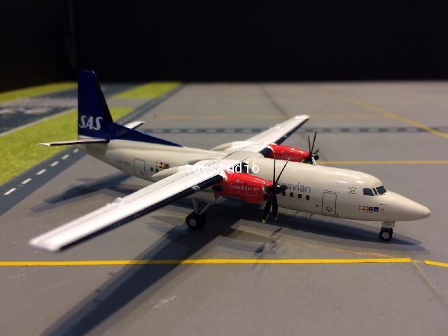 JC WINGS 1:200 SAS Fokker 50 LN-RNC XX2052