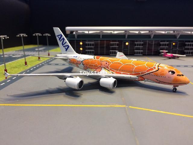 JC WINGS 1:400 ANA A380 Ka La JA383A EW4388004