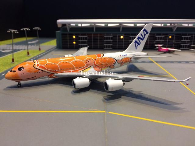 JC WINGS 1:400 ANA A380 Ka La JA383A EW4388004 1