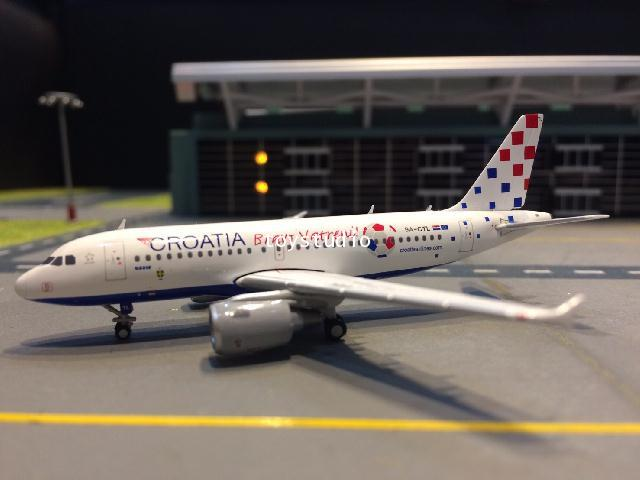 JC WINGS 1:400 Croatia A319 Bravo Vatreni 9A-CTL XX4064 1