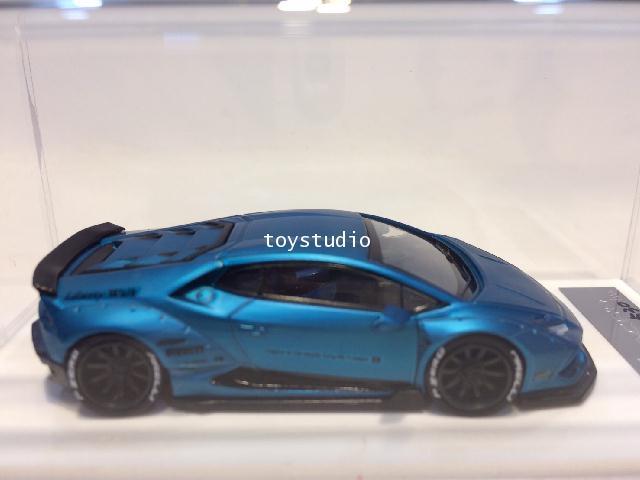 LB610-04 1:64 Huracan LB610 Matt Blue LB610-04
