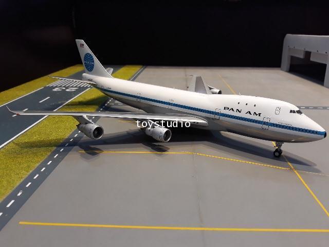 GEMINI JETS 1:200 Pan Am 747-100 Polished N734PA G2790