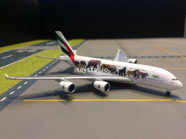 HERPA WINGS 1:500 Emirates A380 United for Wildlife A6-EEI HW531764