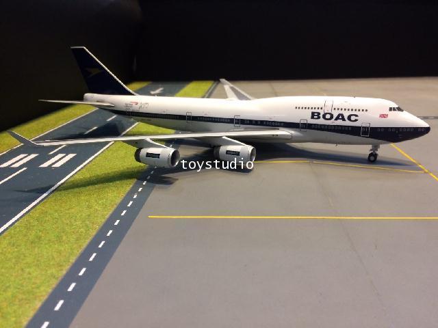 GEMINI JETS 1:200 British 747-400 BOAC G-BYGC G2834
