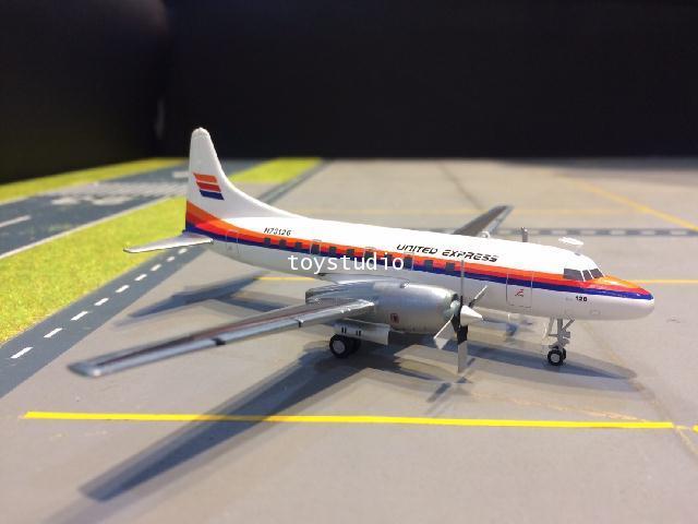 GEMINI JETS 1:200 United Express CV-580 N73126 G2318