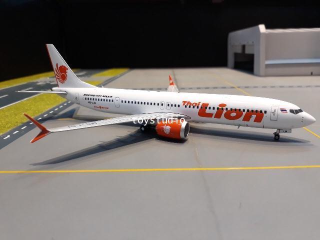 GEMINI JETS 1:200 Thai Lion Air 737 MAX 9 HS-LSI G2820