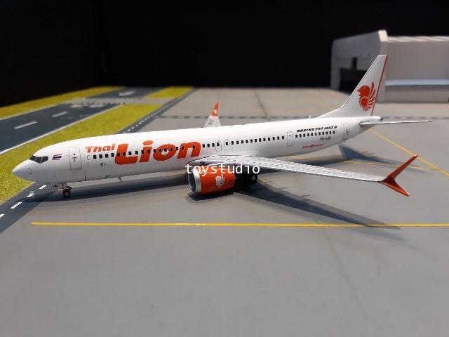 GEMINI JETS 1:200 Thai Lion Air 737 MAX 9 HS-LSI G2820 1
