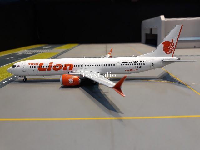 GEMINI JETS 1:200 Thai Lion Air 737 MAX 9 HS-LSI G2820 2
