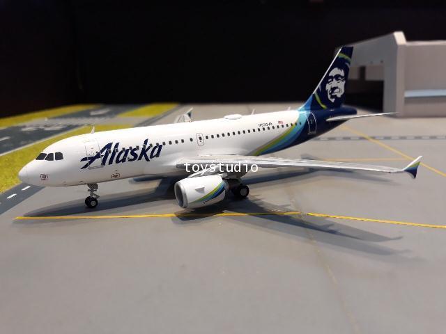 GEMINI JETS 1:200 Alaska A319 N530VA G2830 1