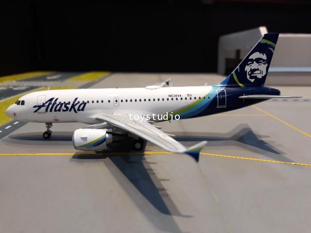 GEMINI JETS 1:200 Alaska A319 N530VA G2830 2