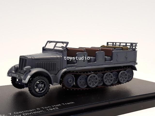 HOBBY MASTER 1:72 German 8 Ton Half Track 1942 HG5007 1