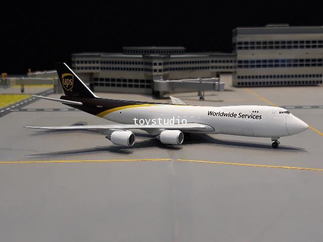 HERPA WINGS 1:500 UPS 747-8F N607UP HW531023-001