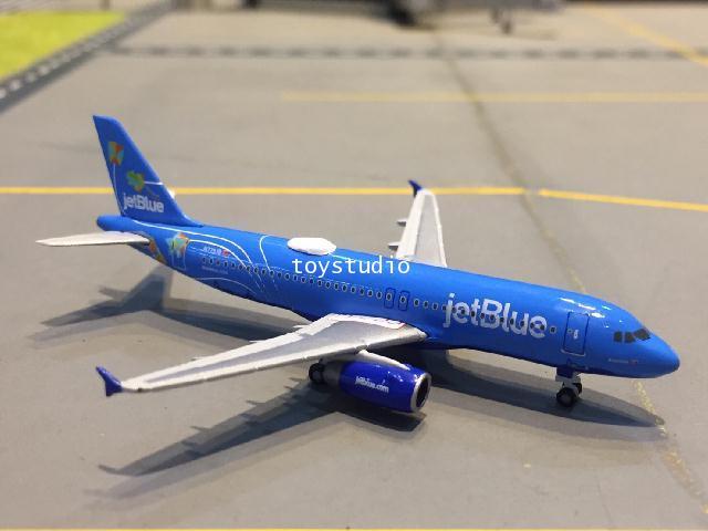 HERPA WINGS 1:500 JetBlue A320 Bluericua N779JB HW533096