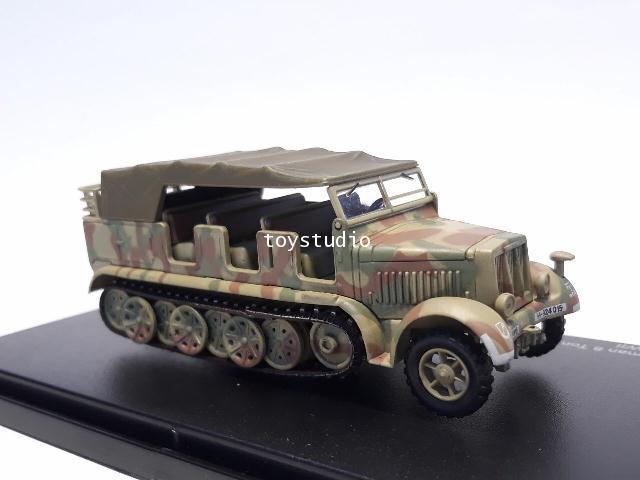HOBBY MASTER 1:72 Kfz 7 German 8 Ton Half Truck SS-924015 HG5005