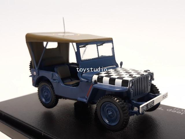 HOBBY MASTER 1:72 Willy\'s Jeep Follow Me HG1613