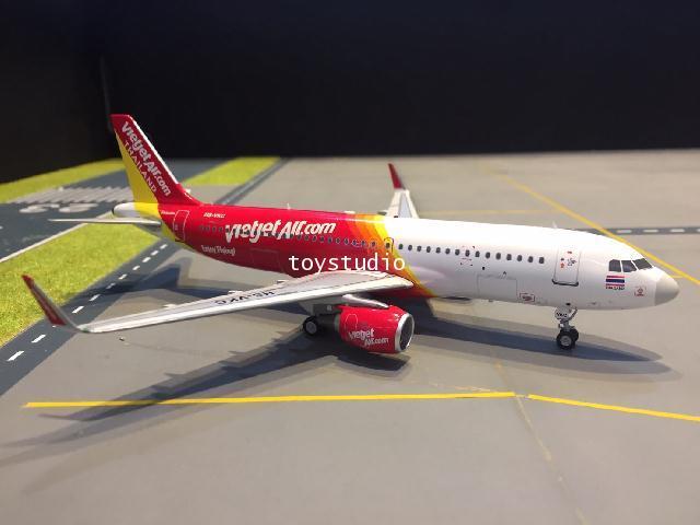 JFOX 1:200 Thai VietJet A320-200 HS-VKC JFA320003 ***SALES***