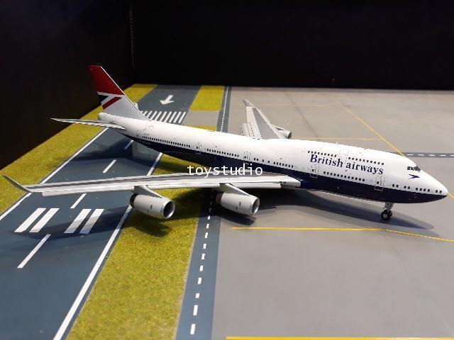 Gemini Jets 1:200 British 747-400 G-CIVB FD G2841F