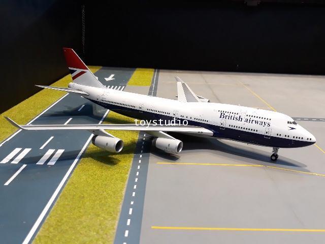 Gemini Jets 1:200 British 747-400 G-CIVB G2841
