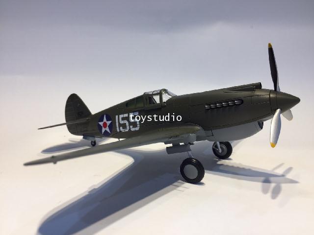 Hobby Master 1:48 P-40B Warhawk White 155 47th HA9202