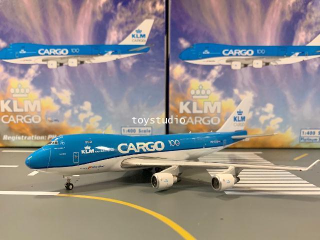 Phoenix 1:400 KLM Cargo 747-400 PH-CKB 100 years PH1591 1
