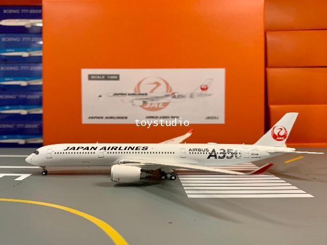 JC Wings 1:400 JAL A350-900XWB Silver JA02XJ EW4359002