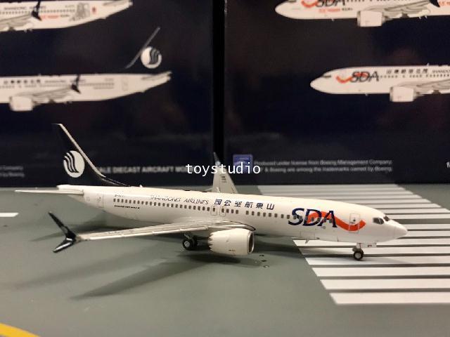 JC Wings 1:400 Shangdong 737-8 Max B-1271 LH4110