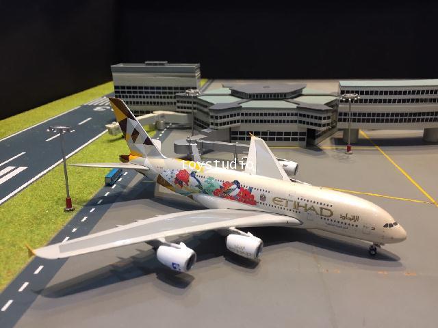 Phoenix 1:400 Etihad A380 A6-APD Choose South Korea P4319