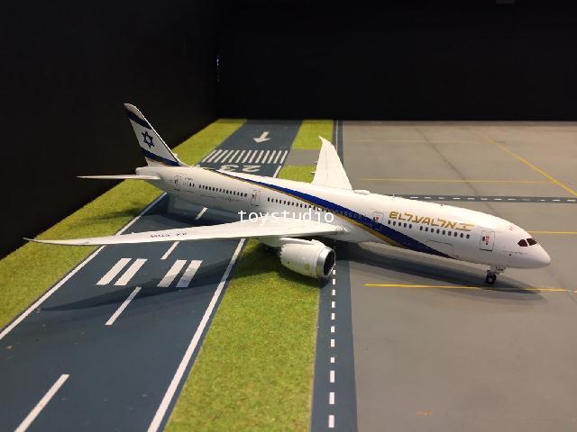 JC Wings 1:200 El Al 787-9 Jerusalem of Gold 4X-EDM XX2317