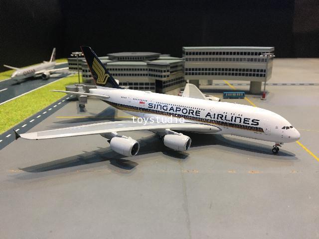 Phoenix 1:400 Singapore A380 9V-SKZ P4328