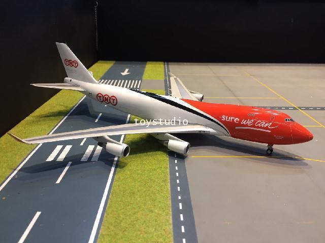 Inflight 1:200 TNT 747-400 OO-THA IF744TNT01