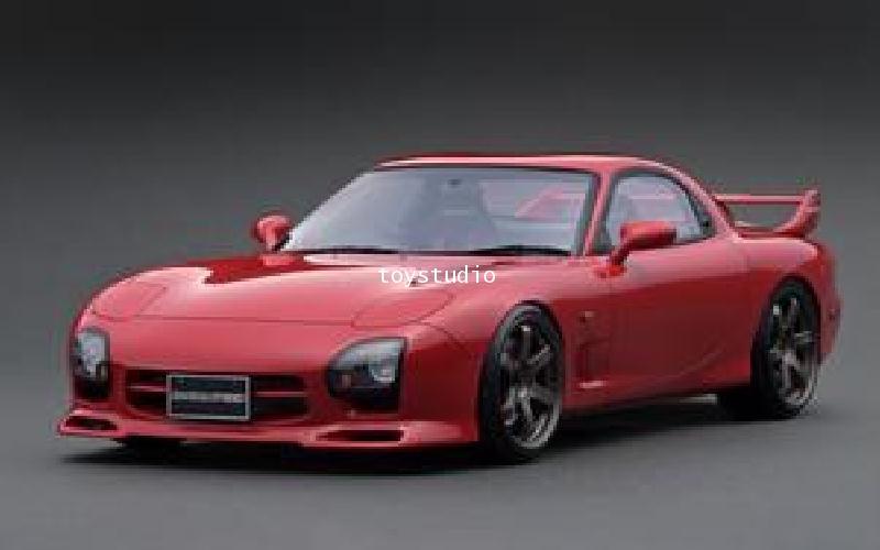 Ignition Model 1:12 Mazda RX7 (FD3S) Speed Aspec Red IG1835