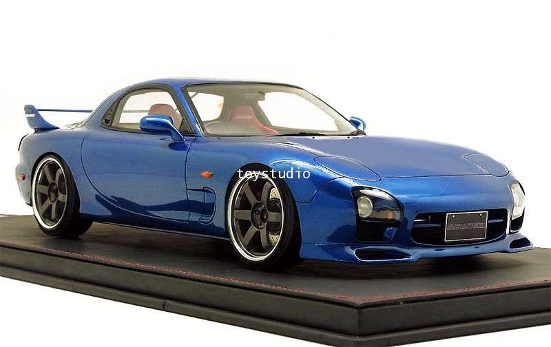 Ignition Model 1:12 Mazda RX7 (FD3S) Speed Aspec Blu IG1834