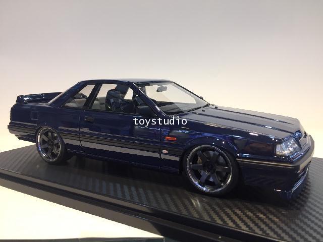 Ignition Model 1:18 Nissan Skyline GTS-R (R31) Blue Blk IG2107