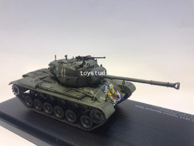 Hobby Master 1:72 US M46 Patton Medium Tank 64th Tank Battalion HG3705
