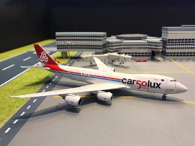 JC Wings 1:400 Cargolux 747-8F 50 YRS LX-VCC XX4356C