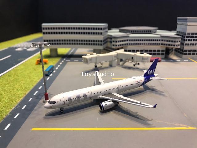 JC Wings 1:400 SAS A321 OY-KBH XX4257 1