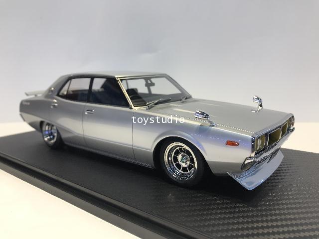 Ignition Model 1:18 Nissan Skyline 2000 GT-X (GC110) Sil IG1978