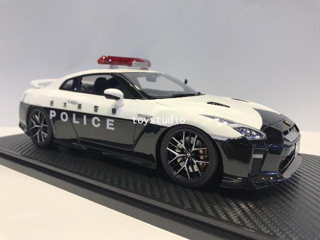 Ignition Model 1:18 Nissan GT-R35 2018 Police IG1901