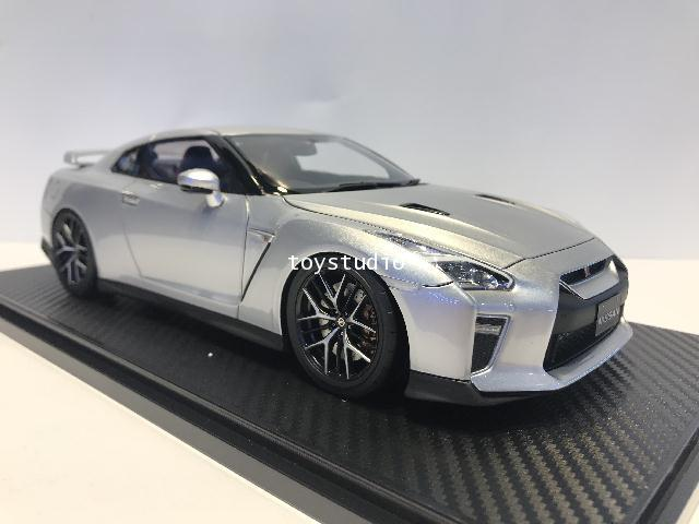 Ignition Model 1:18 Nissan GT-R35 Premium Edition Ultimate Metal Sil IG1910